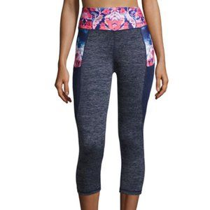 Nanette Lepore Cropped Leggings Play Floral (XS)